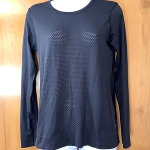 Lululemon seamless mesh long sleeve crew tee